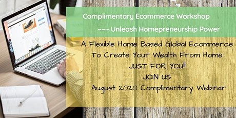 Complimentary Ecommerce workshop tickets