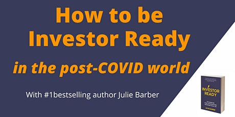 Being Investor Ready in the post-COVID world tickets