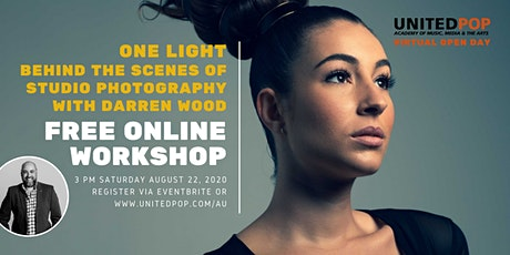 One Light | Free Online Studio Photography Workshop tickets