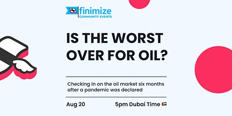 Is The Worst Over For Oil? tickets