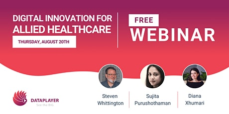 Digital Innovation for allied healthcare. tickets