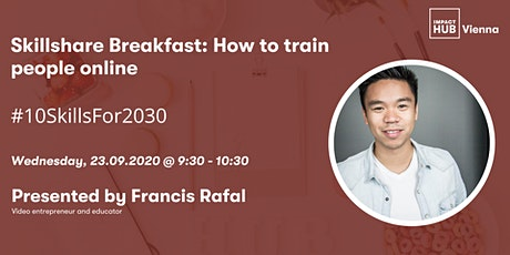 Skillshare Breakfast: How to train people online tickets