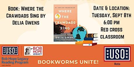 USO Rota Book Club: Where the Crawdads Sing entradas