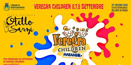 Veregra Children 2020 - L'incredibile Circo Pouet biglietti