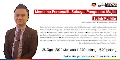 Membina Personaliti Sebagai Pengacara Majlis tickets