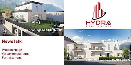 NewsTalk | Hydra Real Estate GmbH über die Projekterfolge in Innsbruck Tickets