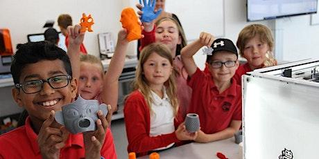 Renishaw Summer STEM School - learn to 3D print a fridge magnet tickets