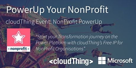 PowerUp Your NonProfit - Driving Your Digital Future With Zero lock-in tickets