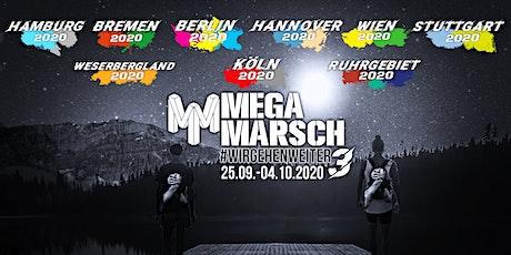 Megamarsch Spezial #WIRGEHENWEITER 25.09.- 04.10.2020 bilhetes