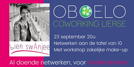 Netwerkavond Oboelo: De tafel van 10, met workshop professionele make-up tickets