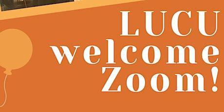 LUCU Freshers Welcome Zoom! tickets