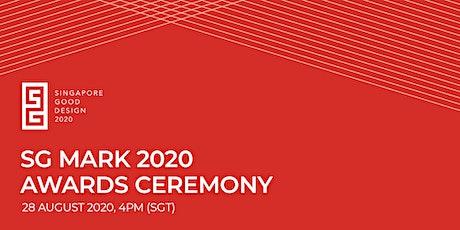 Singapore Good Design Awards Ceremony 2020 tickets