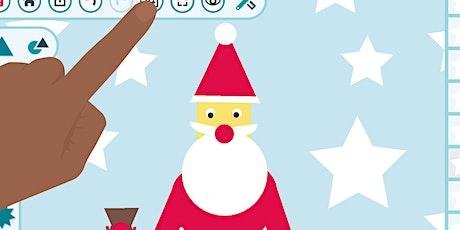 Digitale Kunst: Weihnachtskarten animieren Tickets