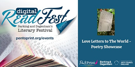 ReadFest: Love Letters to The World – Poetry Showcase tickets