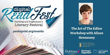 ReadFest: The Art of The Editor Workshop with Alison Hennessey tickets