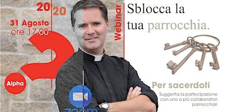 Webinar con Padre James Mallon  (per sacerdoti) ||  31 ago 2020 biglietti