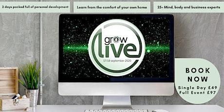 GROW Live 2020 tickets