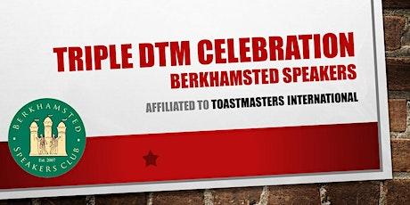 Triple DTM Celebration - Berkhamsted Speakers tickets