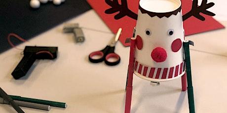 Tüfteln: Weihnachtliche Drawbots bauen Tickets
