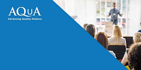 AQuA Quarterly Mortality Report (QMR) Webinar tickets
