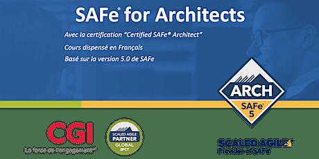 SAFe® for Architects (5.0) en Français billets