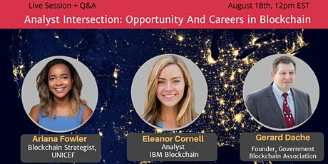 Analyst Roundtable: Opportunies and Careers in Blockchain [Expert Panel] tickets