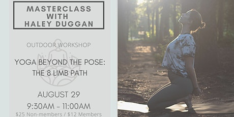 Beyond The Pose: Masterclass with Haley Duggan tickets