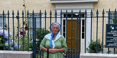 Costumed Walking Tour of St Helier with the 16 New Street Housekeeper tickets