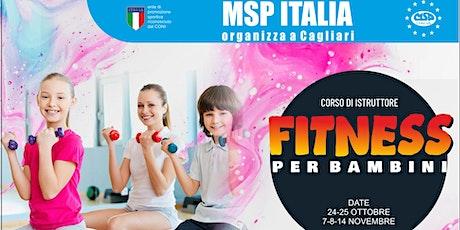 """CORSO MSP ITALIA """"ISTRUTTORE FITNESS PER BAMBINI""""-CAGLIARI"""