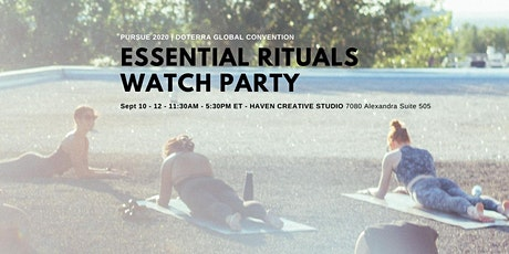 Essential Rituals Watch party: PURSUE 2020 | doTERRA Global Connection tickets