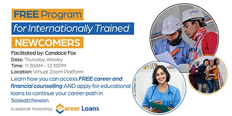 FREE Program for Internationally Trained Newcomers tickets
