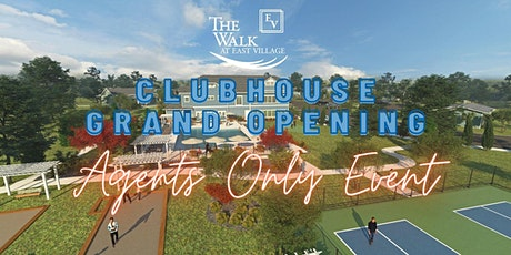 Agents Only Event - Sneak Peek at The Walk at East Village Clubhouse tickets