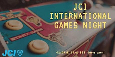 JCI International games night tickets