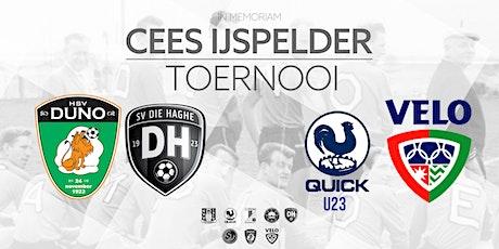 I.M. Cees IJspelder Toernooi : DONDERDAG 13-8 tickets