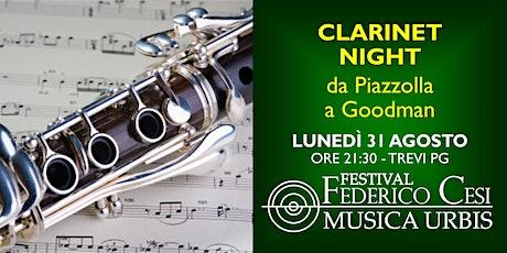 Clarinet Night: da Piazzolla a Goodman biglietti