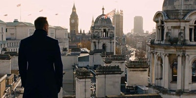 Virus Safe Outdoor James Bond Westminster London T