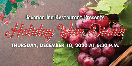 Holiday Wine Dinner tickets