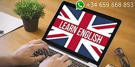 Curso online de Inglés para acreditación  A1 entradas
