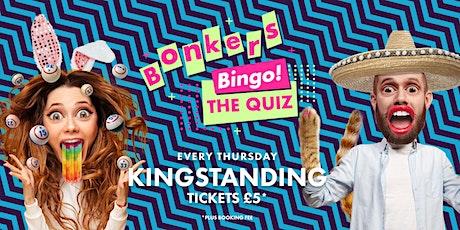 Bonkers Bingo: The Quiz - Kingstanding tickets