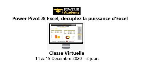 Avec Power BI & Excel, décuplez la puissance d'Excel  - 14 & 15 Décembre billets