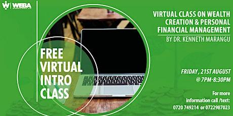 Wealth Creation & Money Management Intro Class tickets