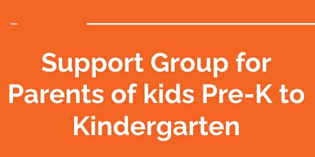 Parent Support Group during COVID-19 tickets