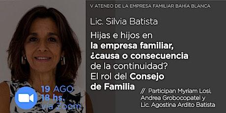 Quinto Ateneo de la Empresa Familiar en Bahía Blanca boletos