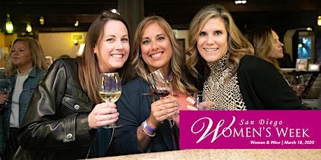 San Diego Women's Week | Women and Wine tickets