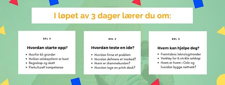 Forskole i gründerskap i Oslo - Mars 2021. Søk på forskole.no image