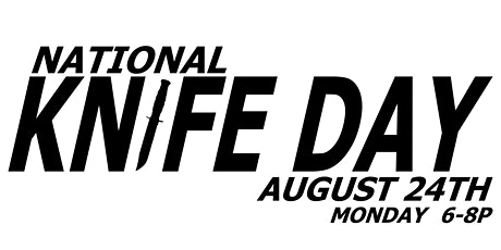 National Knife day at the Blade Bar tickets