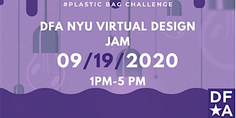 DFA NYU Virtual Design Jam tickets