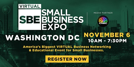 Washington D.C. Virtual Small Business Expo 2020 tickets