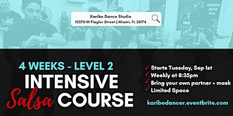 4  Week Intensive Salsa Course - Level 2 Salsa tickets