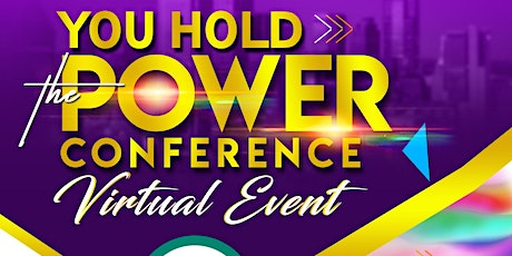 """Size Overrated Magazine Presents: """"You Hold The Power"""" Virtual Conference tickets"""